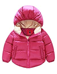 Azyuan Baby Boys' Girls' Winter Puffer Coat Thicken Down Jacket Outwear