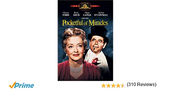 Amazon.com: Pocketful Of Miracles: Glenn Ford, Bette Davis, Hope ...