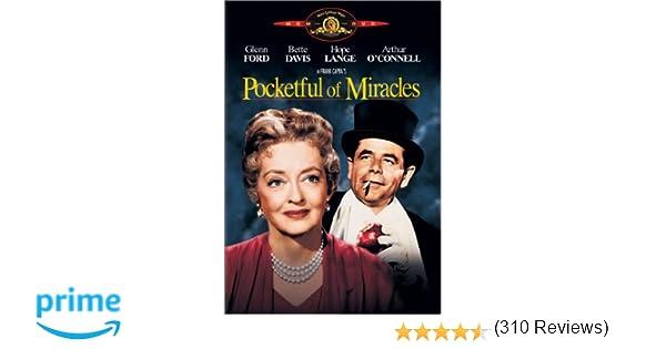 Amazon.com: Pocketful Of Miracles: Glenn Ford, Bette Davis, Hope ...