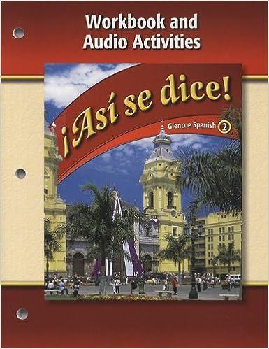 Asi Se Dice Level 2 Workbook And Audio