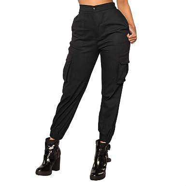 3427dfef61c0 Pantalon Cargo Femme