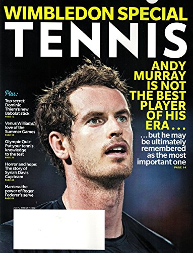 Tennis Magazine July August 2016   Wimbleton Special   Andy Murray