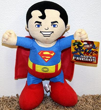 BRAND NEW WITH TAGS DC COMIC SUPER HERO SUPERMAN PLUSH SOFT TOY