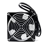 LICTOP Solder Fume Extractor Absorber Smoke Exhaust Table Fan For DIY Ventilation Exhaust Projects