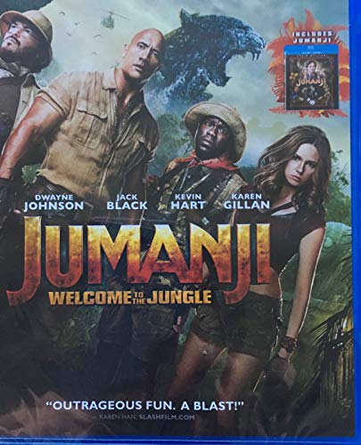 Jumanji / Jumanji: Welcome to the Jungle [Blu-ray]
