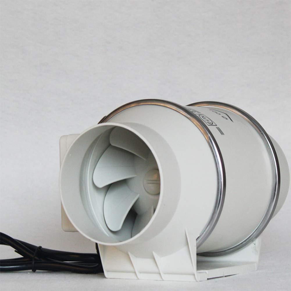 Halle Salle Hydroponique ZQYR Extractor Fans@ Ventilateur Extracteur de Conduit A/érateur dair /à Flux Mixtes /ø72mm 23W Ventilateur Puissante pour Bureau Volume dair: 170m/³ // h Salle de Bain