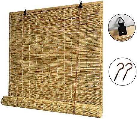 XYNH Persianas De Bambú-Persianas De Caña-Rollo Bambú Ventanas-Sombra Aislamiento Térmico Proteger De La Lluvia Adecuado para Balcón,jardín,Patio: Amazon.es: Hogar