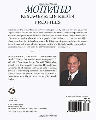 Motivated Resumes & LinkedIn Profiles! (The Motivated Series