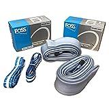 FOSS Bike Environmentally Friendly Inner Tubes 26 x 1.95-2.25, Schrader Valve (2 Pack)