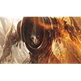 Artists of Magic Premium Playmats: DEADLY ENCOUNTER AUTOGRAPHED BY THE ARTIST DAARKEN