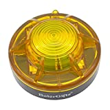 BolerGifts Road Flares Roadside Flashing Emergency LED Lights Beacon with Magnetic Base for Car and Outdoor Sports (yellow)