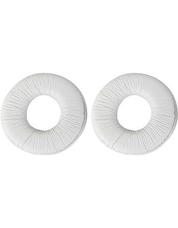 Almohadillas Para Los Oídos Cojines Para Sony Mdr Zx100 ZX300 Blanco Auriculares Auriculares