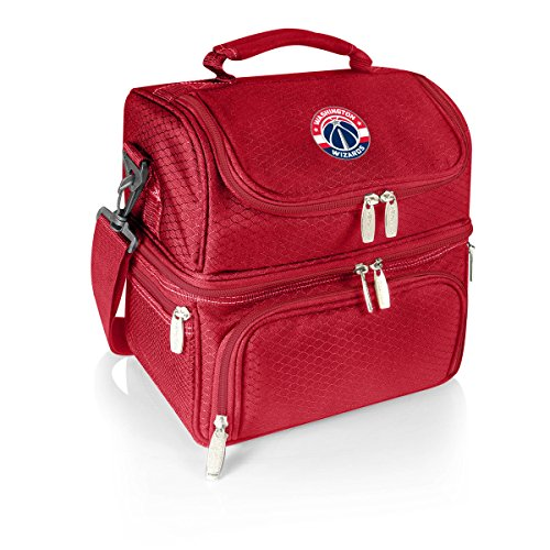 PICNIC TIME NBA Washington Wizards Pranzo Insulated Lunch Tote, Red