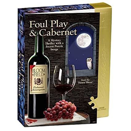 Puzzle - Foul Play And Cabernet 1000 Pc University Games 33117