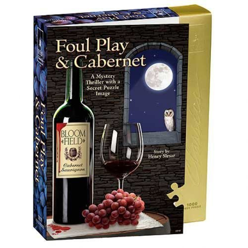 (Classic Mystery Jigsaw Puzzle - Foul Play & Cabernet)