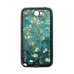 Cherry Blossom Painting Style On Blue Background Design Luxury Cover Case For Samsung GALAXY S6 (Black) with Best Plastic ALL MY DREAMS