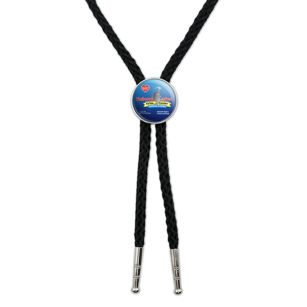 Narwhal Unicorn of the Sea Western Southwest Cowboy Necktie Bow Bolo Tie