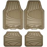 Armor All Custom Accessories 78842 4-Piece Tan All Season Rubber Floor Mat: more info