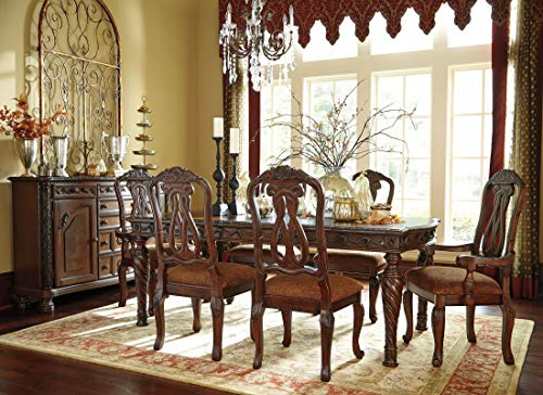 Ashley North Shore Rectangular Dining Room Set - 7 pc. (Wood)