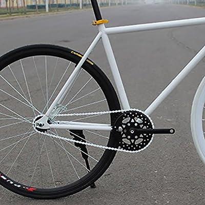 Cadenas Cadena De Bicicleta De Pista BMX Artes Fijos De Una Sola Velocidad 1/2