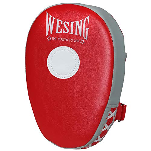 Wesing Boxing Pads Focus Pounching Mitts MMA Muay Thai Curved Kickboxing Training Strike Target Punching Hand Pads-1 Pcs