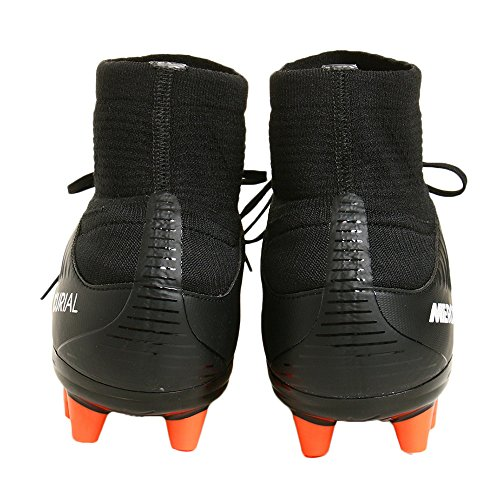 Nike Herren 831960-013 Fußballschuhe Black (Schwarz / Weiß-Elektro - Grün)