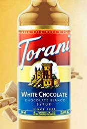 Torani White Chocolate Syrup