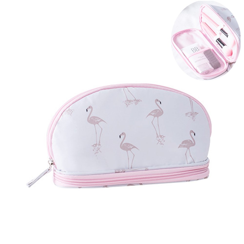Portable Shell Makeup Storage Bag Travel Waterproof Toiletry Organizer for Women