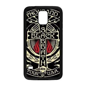 Negro S YU76TC4 funda Samsung Galaxy S5 caso del teléfono celular funda R6ZD7E1ZV