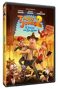 Tadeo Jones 2: El Secreto Del Rey Midas [DVD]: Amazon.es