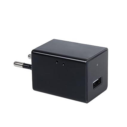 Corprit Cámara Oculta TOGUARD Negra Mini Wifi Adaptador USB Cámara ...