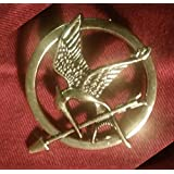 The Hunger Games Katniss Everdeen Cosplay Prop Mockingjay Pin Brooch Badge