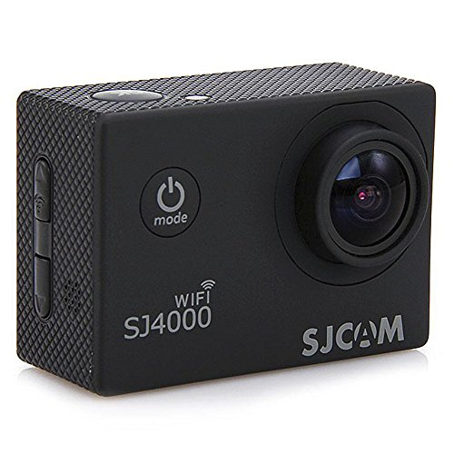 Original SJCAM SJ4000 WIFI Action Camera Sports DVR Water Resistant 30M Outdoor Camcorder Helmet Bicycle Motorcycle Camera with a Free Mini SmartTmall Wrench, Black Action Cameras SJCAM