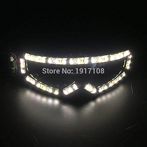 VT BigHome 2017 NEW LED Glasses Light up Glasses Party Supplies Dancing Club Props Stage Costumes Halloween Lighting LED Gloves