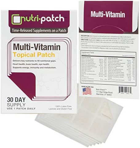 Multi-Nutrients Topical Patch from Nutri-Patch®