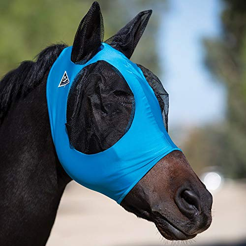 ProCho Comfort-Fit Fly Mask Pattern Horse Unicorn