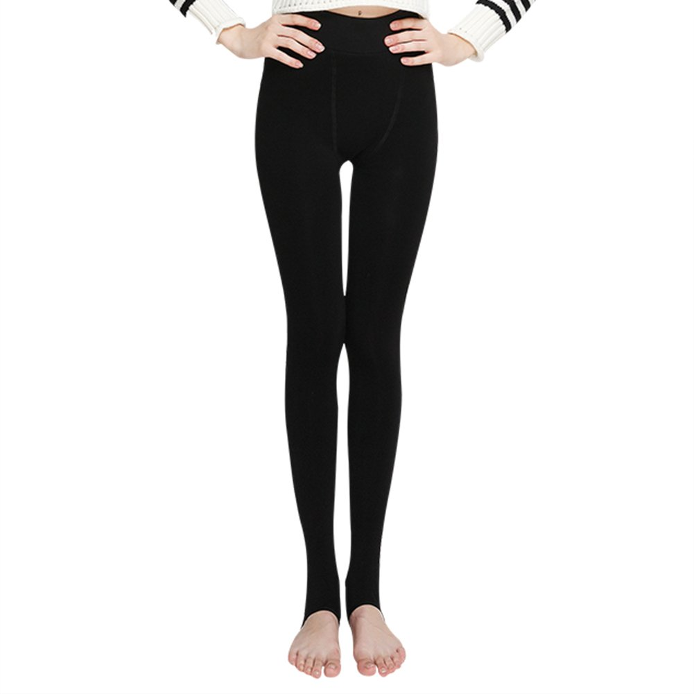 eded18491e1d5a High Quality Womens Winter Leggings – Fleece leggings with 68.4% Polyester  fiber/20.8% nylon/10.8% spandex keeps you warm in stretchy,  figure-sculpting ...