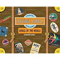Wings of the World Luggage Labels: Travel Stickers