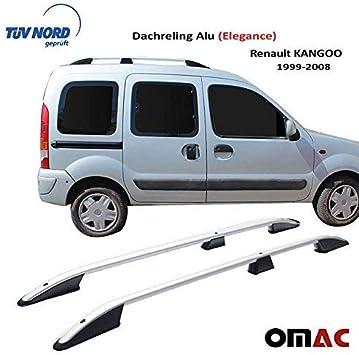 OMAC GmbH Aluminium Dachreling f/ür Berlingo 2019-2020 Relingtr/äger Gep/äcktr/äger Grau Kurzer nit TUV ABE