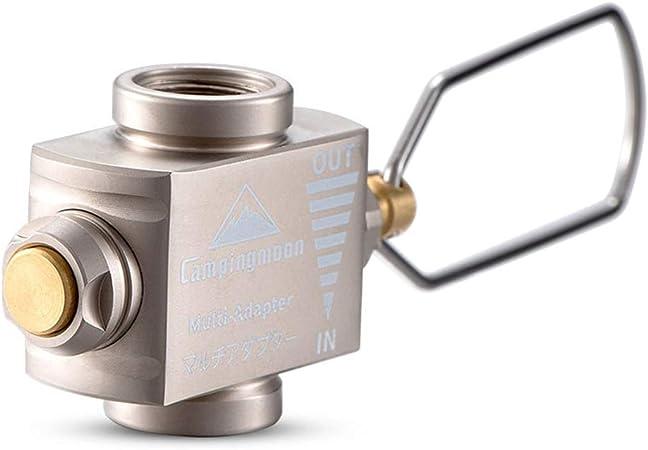 Lixada Válvula de Inflado Z15 + Adaptador de Tanque de Gas ...