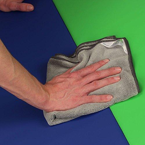 Cedar Creek 12''x16'' Premium Plush Microfiber Cleaning Cloths, Professional Grade, Green, 144 Case Value Pack by Cedar Creek (Image #4)