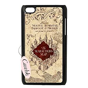 Casehk High Quality Cell Phone Case for iPod Touch 4, harry potter iPod Touch 4 Best Case, harry potter Custom Cover Case