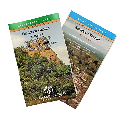 Official Southwest Virginia Appalachian Trail Maps (West Virginia Trail Map)