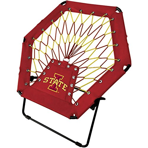 - Imperial Officially Licensed NCAA Furniture: Basic Bungee Chair, Iowa State Cyclones