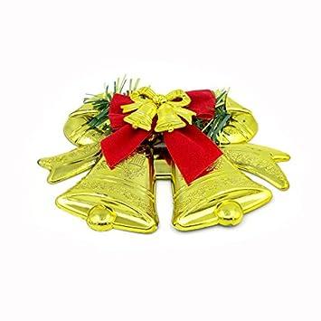 LEEDY 2019 - Adornos para árbol de Navidad, Colgante de Campanas Dobles, decoración de Navidad, Adornos Colgantes, Accesorios de decoración: Amazon.es: ...