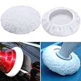 9 Inch -10 Inch Car Polisher Pads Buffing Pad Cover, Max Waxer Pads For 9'' And 10'' Car Polisher Pack of 4Pcs (9-10 inch)
