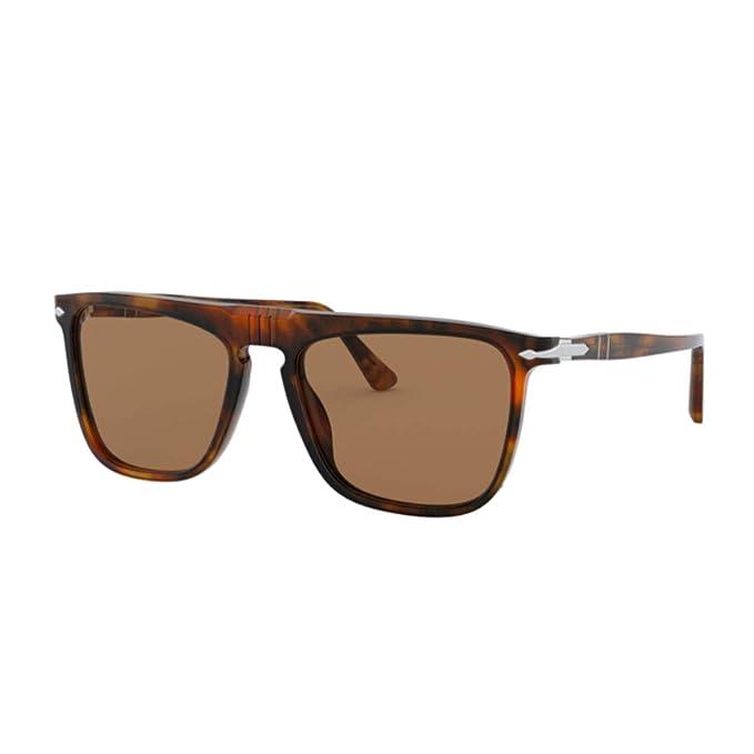 Persol 0PO3225S Gafas de sol, Caffe, 56 Unisex: Amazon.es ...
