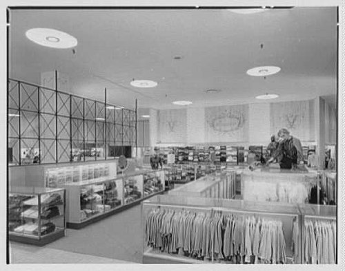 HistoricalFindings Photo: Gimbel Brothers,Cross County Center,Yonkers, York,NY,Department ()
