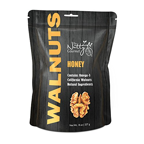The Nutty Gourmet - Flavored Walnuts 8oz - (Honey)