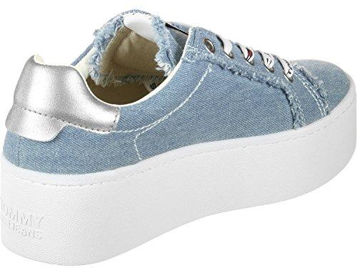 Pour Bleu Tommy Jeans Baskets Femme WqpXfAH